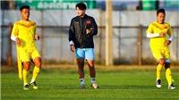 U23 Việt Nam tập kín trước giờ 'sinh tử' với U23 UAE