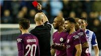 Video clip highlights bàn thắng Wigan 1-0 Man City: Vỡ mộng ăn tư