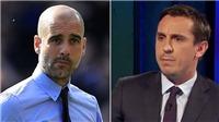 Gary Neville gọi Pep Guardiola là 'gã hề' vì chỉ điền tên 6 cầu thủ trên ghế dự bị