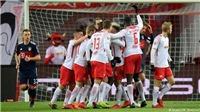RB Leipzig gây sốc khi lần đầu tiên trong lịch sử quật ngã được Bayern Munich
