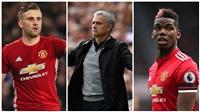 Cuộc chiến phòng thay đồ M.U: Mourinho sẽ 'một đối một' với hai ngôi sao của Quỷ đỏ