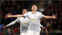 Video clip highlights bàn thắng Crystal Palace 2-3 M.U: 'Quỷ đỏ' ngược dòng ngoạn mục
