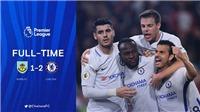 Video bàn thắng trận Burnley 1-2 Chelsea: Moses 'cứu' trận thứ 100 của Conte