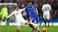Swansea 0-1 Chelsea: Cesc Fabregas lập công, The Blues bám sát top 4