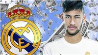 CHUYỂN NHƯỢNG 10/5: Real  bí mật đàm phán với Neymar. Barca bán 8 cầu thủ để muaGriezmann
