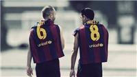 Rơi nước mắt với tâm thư Xavi gửi Iniesta trước trận cuối cùng cho Barcelona
