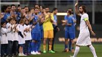 Hàng chục huyền thoại của bóng đá thế giới góp mặt trong trận đấu chia tay của Andrea Pirlo