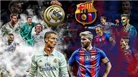 Kinh điển Real Madrid – Barcelona: Messi, Ronaldo và trận chiến danh dự