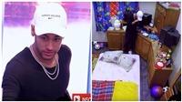 XÚC ĐỘNG khoảnh khắc Neymar òa khóc khi bước vào căn phòng thời thơ ấu