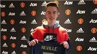 M.U ký hợp đồng với con trai cựu ngôi sao của đội bóng