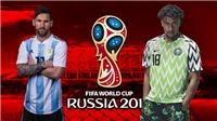 Link xem trực tiếp Nigeria vs Argentina (1h00, 27/6)