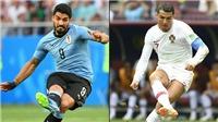 Link xem trực tiếp Uruguay vs Bồ Đào Nha (01h00, 1/7). Trực tiếp VTV3