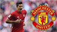 CHUYỂN NHƯỢNG 7/6: Người đại diện đề nghị Lewandowski sang M.U, Real Madrid định gây sốc với Conte