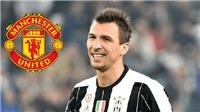 CHUYỂN NHƯỢNG 3/7: M.U cân nhắc chiêu mộ Mandzukic, Schmeichel lọt vào tầm ngắm của Chelsea và Roma