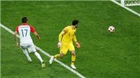 Hugo Lloris mắc lỗi ngớ ngẩn, biếu không cho Mandzukic bàn thắng