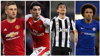 Mục tiêu chuyển nhượng của Barca: Luke Shaw, Dybala và Oezil