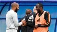 (VTV3 trực tiếp) Bỉ: Henry chỉ Lukaku cách ghi bàn vào lưới Pháp