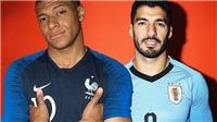 Link xem trực tiếp Uruguay vs Pháp (21h00 ngày 6/7)