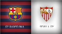 Link xem trực tiếp Sevilla vs Barca (3h, 13/8)