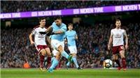 Xem TRỰC TIẾP Man City vs Burnley (21h, 20/10) ở đâu?