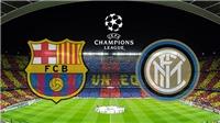 Trực tiếp Barca vs Inter (2h00, 25/10), vòng bảng Champions League.