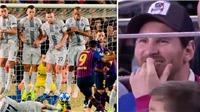 HY HỮU: Cầu thủ Inter Milan ngăn Luis Suarez sút phạt bằng cách thức siêu dị