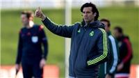 HLV tạm quyền của Real, Santiago Solari, là ai? Có bao nhiêu kinh nghiệm huấn luyện?