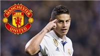 CẬP NHẬT tối 2/11: M.U mua James Rodriguez thay thế Sanchez, HLV Lào cảnh báo đội tuyển Việt Nam