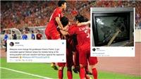 CĐV Malaysia nổi điên, đòi đập tivi khi đội nhà thua Việt Nam