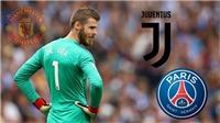 CHUYỂN NHƯỢNG M.U 19/11: Juventus muốn giải cứu De Gea. Dùng lương 'khủng' dụ dỗ Pellegrini
