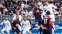 Xem trực tiếp Eibar vs Real Madrid (24/11, 19h00) ở đâu?