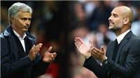 Mourinho: 'Man City thắng vì lịch đấu thuận lợi'. Guardiola: 'Các cầu thủ của tôi đã hơi sợ M.U'