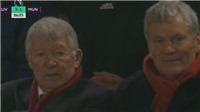 Sir Alex nổi điên trên khán đài khi M.U thua Liverpool