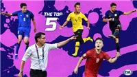 Quang Hải lọt top 5 màn trình diễn xuất sắc nhất bán kết lượt về AFF Cup 2018