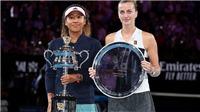Đánh bại Kvitova, Naomi Osaka giành Úc mở rộng và đi vào lịch sử