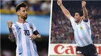 Sir Alex: 'Messi vĩ đại hơn Maradona'