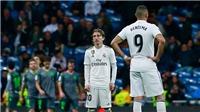 Video Real 0-2 Sociedad: Vazquez thẻ đỏ, Real bị Barca bỏ xa trên bảng xếp hạng