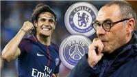 CHUYỂN NHƯỢNG 6/1: M.U quyết không từ bỏ Koulibaly, Chelsea hỏi mua Cavani 50 triệu bảng, Barca nẫng tay trên PSG