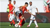 Video: Xem Trung Quốc may mắn ngược dòng thắng 2-1 Kyrgyzstan