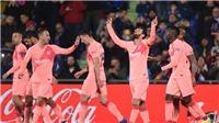 Video Getafe 1-2 Barca: Messi và Suarez tỏa sáng, Barcelona bỏ xa nhóm bám đuổi