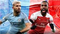 Xem trực tiếp Man City vs Arsenal (23h30, 3/2) ở đâu?