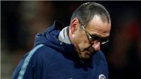 TIẾT LỘ: Sarri bỏ về một mình sau trận Chelsea thua sốc trước Bournemouth
