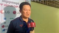 HLV Nguyễn Quốc Tuấn: 'Chúng tôi muốn giành chiến thắng, cơ hội là 50-50 cho mỗi đội'