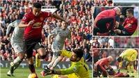 Fan sốc khi M.U thay 3 người dù hiệp 1 trận đấu với Liverpool còn chưa kết thúc