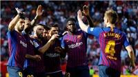 Sevilla 2-4 Barca (KT): Messi lập hat-trick giúp Barca lội ngược dòng ngoạn mục