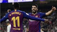 CẬP NHẬT sáng 28/2: Barca thắng kinh điển. HLV Solskjaer lập kỷ lục. Sarri giải thích lý do loại Kepa