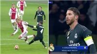 Sergio Ramos xứng danh 'bậc thầy của nghệ thuật hắc ám' vì hành động này ở phút 89