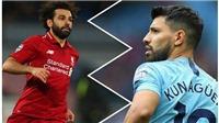 Cuộc đua Chiếc giày Vàng Ngoại hạng Anh: Salah và Aguero vẫn đang dẫn đường