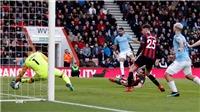 VIDEO Bournemouth 0-1 Man City: Mahrez hóa người hùng, The Citizens tạm vươn lên đầu bảng