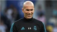 NÓNG: Zidane trở lại dẫn dắt Real Madrid ngay hôm nay